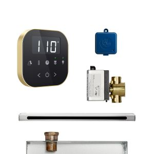 AirButler Linear Package Black Satin Brass
