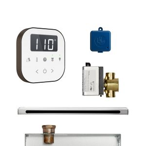 AirButler Linear Package White Oil Rubbed Bronze