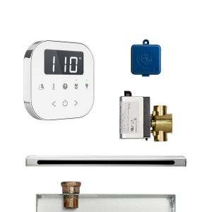 AirButler Linear Package White Polished Chrome